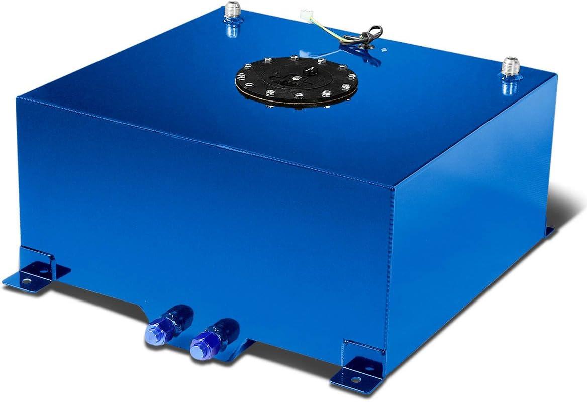 DNAMotoring ALU-FT-T5-BL Aluminum Fuel Cell Gas Tank