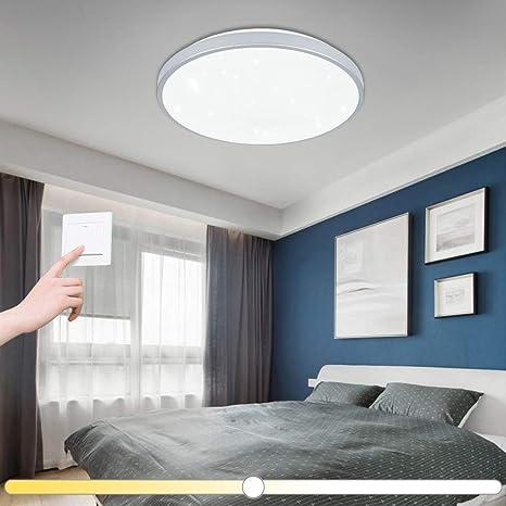 Vingo® 60 W – Lámpara de techo LED cambio de color cielo estrellado Salón Cocina lámpara de iluminación de techo Panel araña cielo estrellado ...