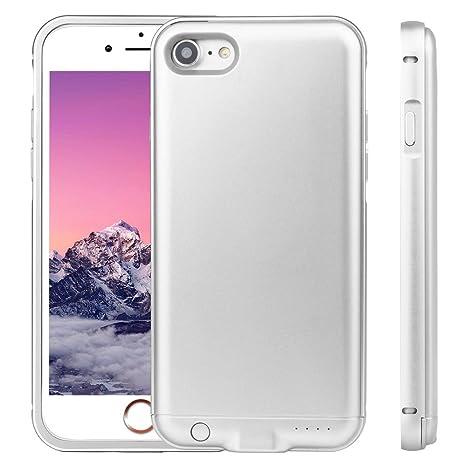 Carcasa para iPhone 7/8, batería recargable, 3000 mAh ...