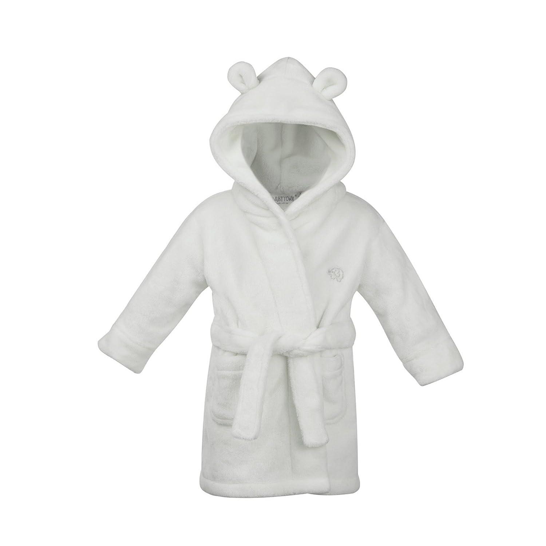 5bd9d9966d1089 schön Baby Umkleide Morgenmantel Entweder rosa oder blau weicher  flauschiger Fleece