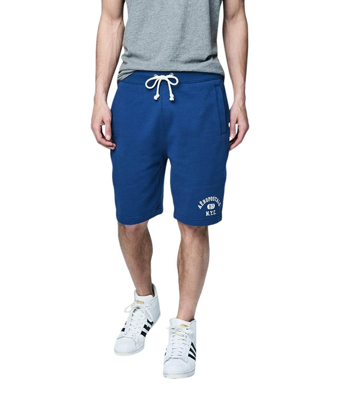 Aeropostale Men's Aropostale Nyc 87 Knit Jogger Shorts