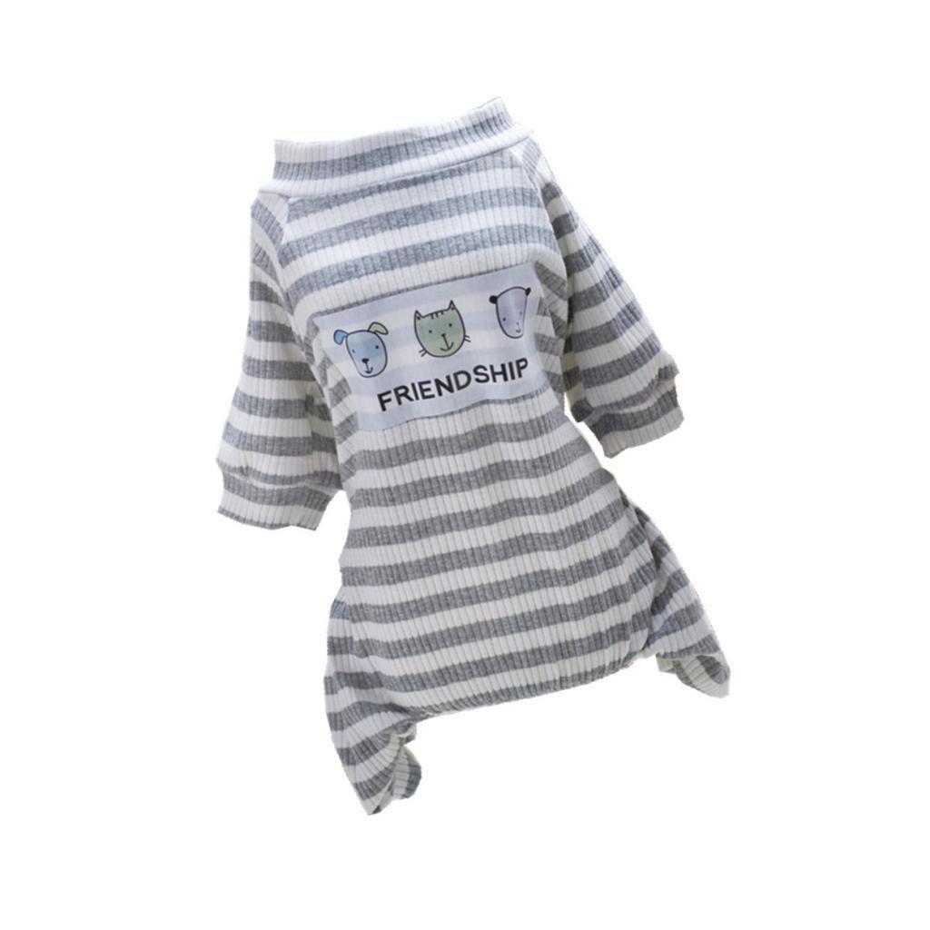 Sharplace Pijama de Perros Gatos Ropa de Animal Doméstico Mono de Algodón de Mascotas para Fiesta de Disfraz - S: Amazon.es: Juguetes y juegos