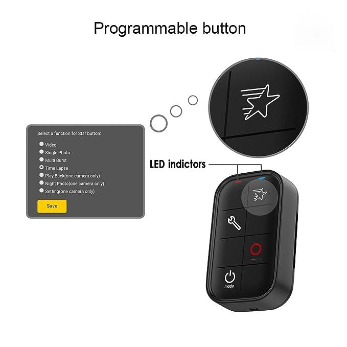 ... Inteligente para Gopro Hero+LCD , Hero 5 Series, Hero 4 Series, Hero 3+, Hero Session. Control a 6 Cámaras al mismo tiempo: Amazon.es: Electrónica
