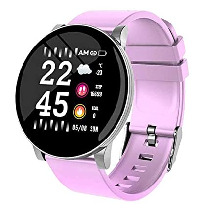 CWL W8 Smartwatch Fitness Tracker reloj pulsera deporte IP67 Reloj Smart Watch pantalla redonda con Facebook, Twitter, WhatsApp notificación ...