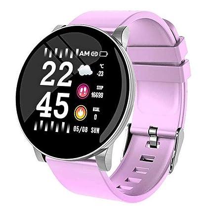 CWL W8 Smartwatch Fitness Tracker reloj pulsera deporte IP67 Reloj Smart Watch pantalla redonda con Facebook, Twitter, WhatsApp notificación ...
