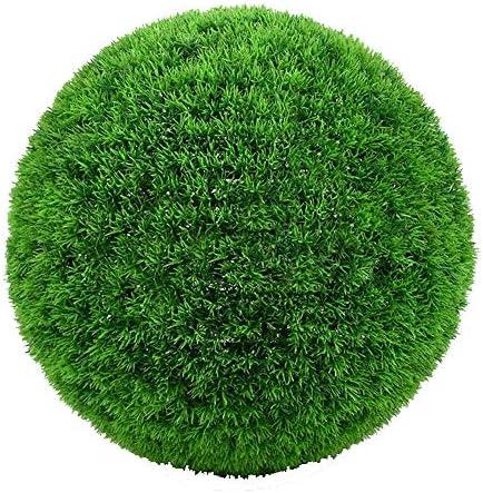 パインニードルボールユーカリ植物ボールプラスチック草ボールデコレーションシミュレーション草ボール緑ユーカリ屋内屋外センタークリスマスホームデコレーション