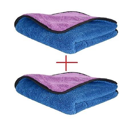 Toallas de Limpieza Gruesa Lavado de Coches Auto Paño Microfibra Suaves de Pulido Alta Calidad Decathlon