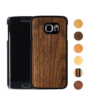 best service 443f2 82ac5 MediaDevil Samsung Galaxy S7 Edge Wood Case (Black Walnut) Artisancase