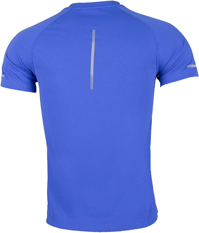 Herren T-Shirt Sportshirt Fitnessshirt Atmungsaktiv Gym Shirt Lauf Shirt Training Running Shirt Schnell Trocknend Kurzarmshirt f/ür M/änner