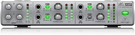 Behringer, AMP800 Four Channel Headphone Amp