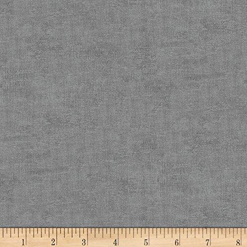 Stof Fabrics 0574597 Stof Melange Texture Basic Grey Fabric by The Yard