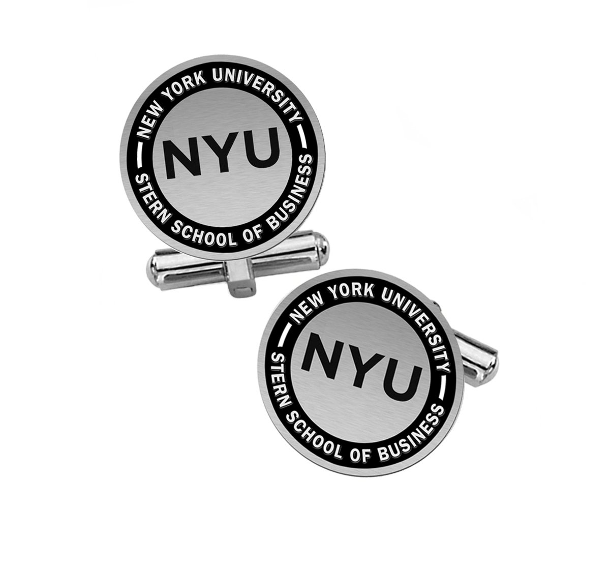 Stern School of Business Cuff Links | NYU by College Jewelry