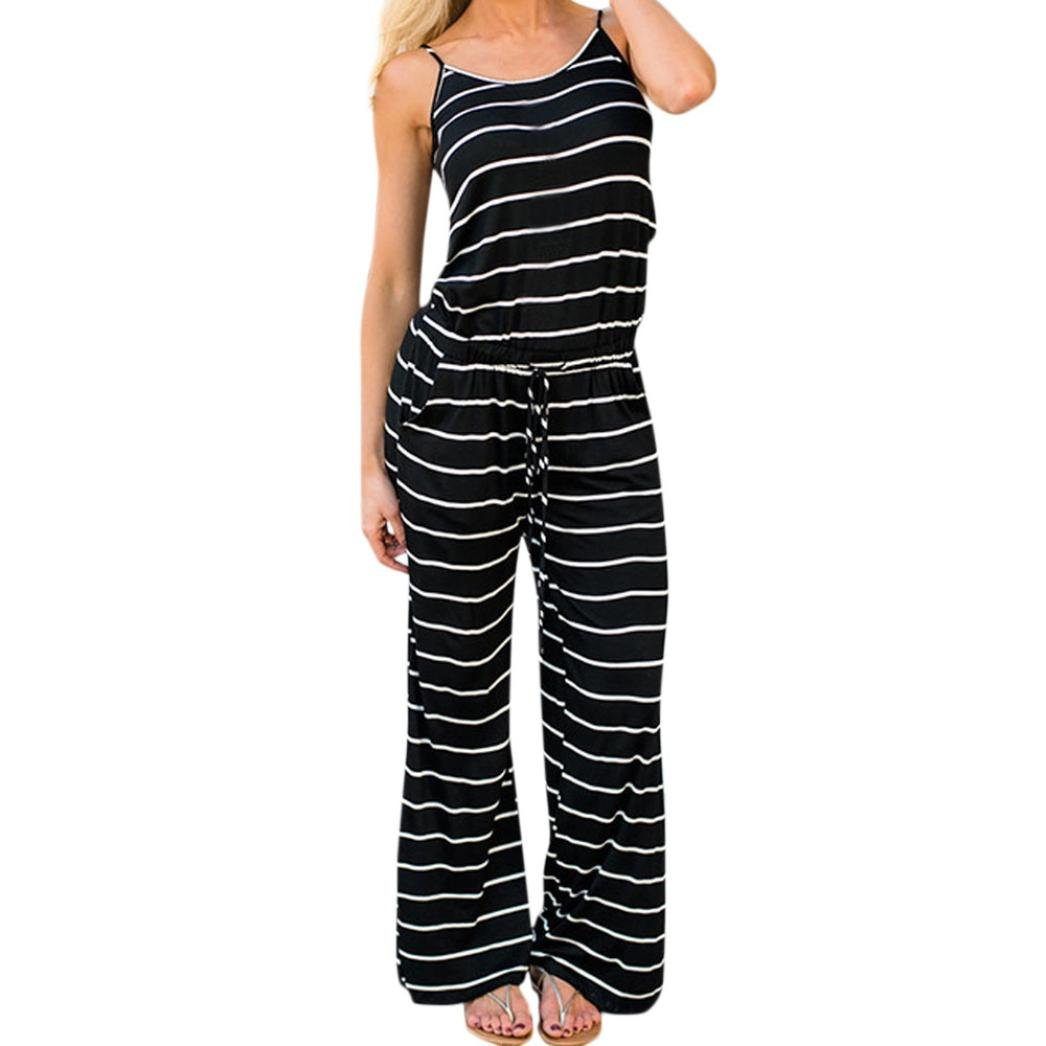 5fd4de056845 ✤This one piece outfit featuring black and white stripe print