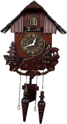 Amazon Com Kintrot Cuckoo Clock Pendulum Quartz Wall