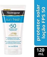 Protetor Solar Sun Fresh FPS 50, Neutrogena, 120ml