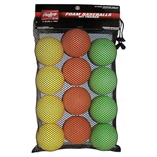 (Rawlings HITTRAIN-12 Hit Trainer Balls (12 PK))