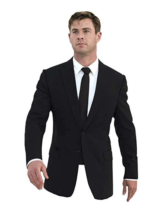 LP-FACON Mens MIB Formal Party Wear Black 2 Piece Tuxedo ...