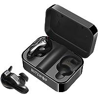 Wireless Earbuds, BlitzWolf Bluetooth 5.0 True Wireless Bluetooth Earbuds 12H Play time 3D Stereo Sound Wireless Headphones, TWS Earbuds Built-in Microphone Portable Charging Case