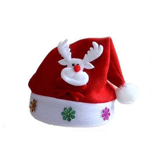 Nutsima Hat Baby Christmas Santa Claus Cap Kids Hat Newborn Photography  Girls Boy Winter for 2 ce368986255