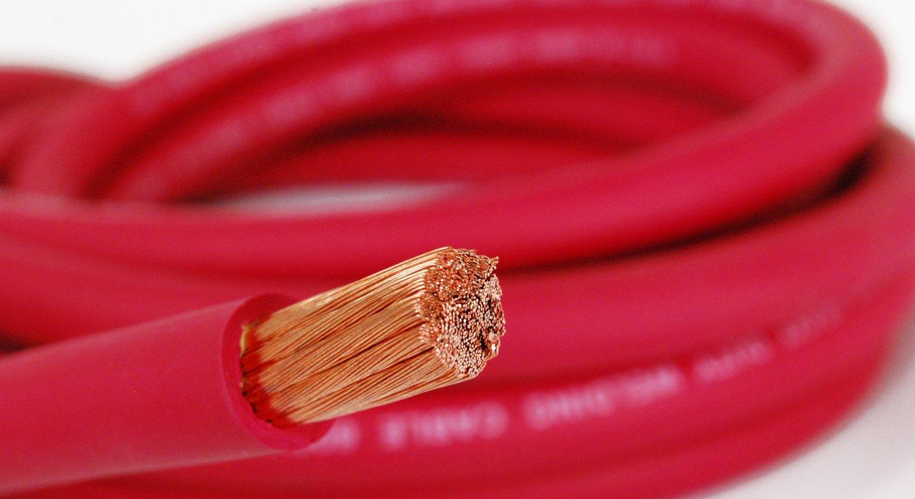 Nassau電源配線4 / 0ゲージAWG 175 ftレッド。HD USA溶接リードと車バッテリーケーブル600 V銅線ワイヤケーブル B073GZJJ5D