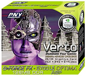 Amazon.com: GeForce FX 5700 Le Optima 128 MB, DDR, AGP ...