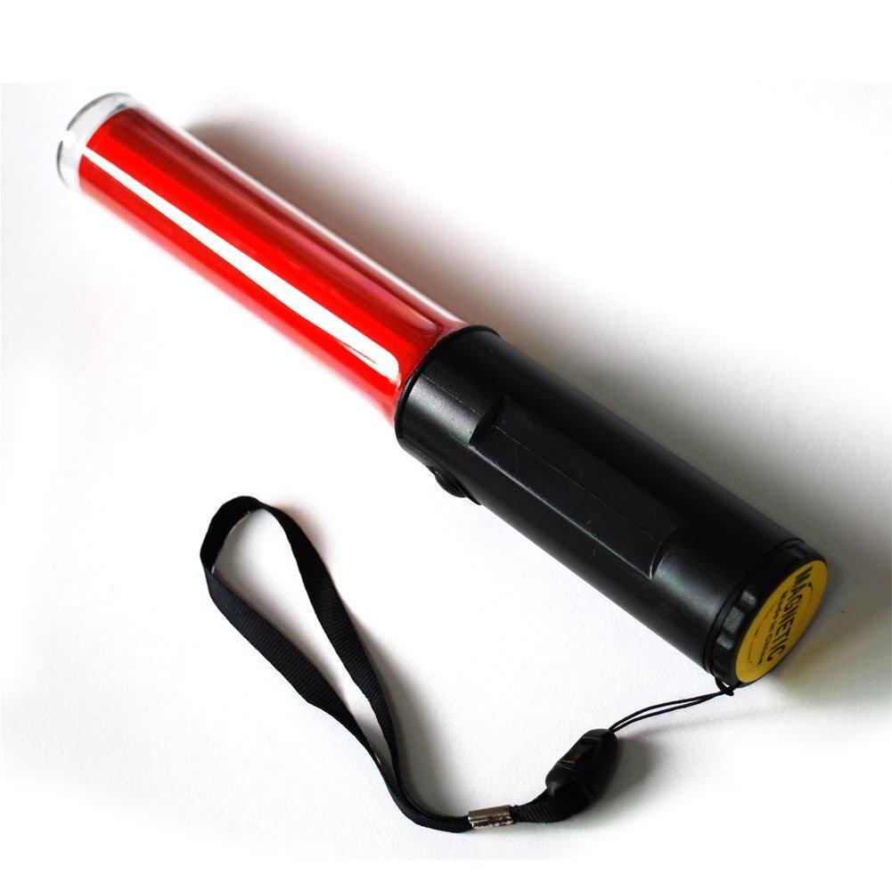 LED SAFETY Traffic signal FlashLights Flashing FLASHBACK RED LIGHT BATON Magnet by Sporoad (Image #1)
