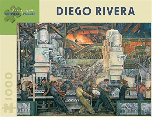 Diego Rivera: Detroit Industry 1000-Piece Jigsaw Puzzle