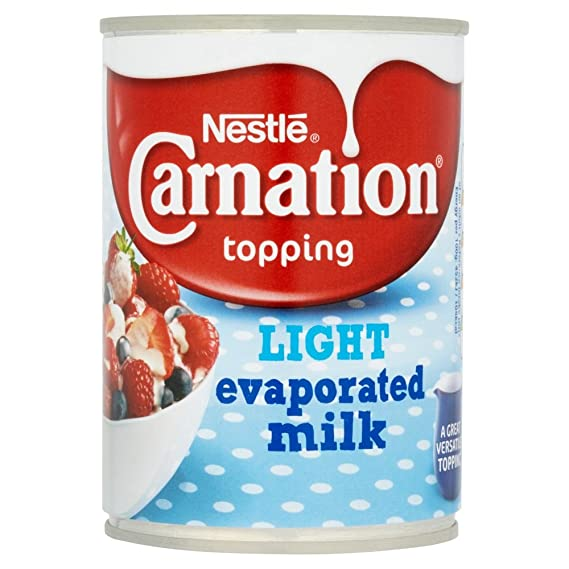 Carnation La Luz Se Evaporó La Leche 410g