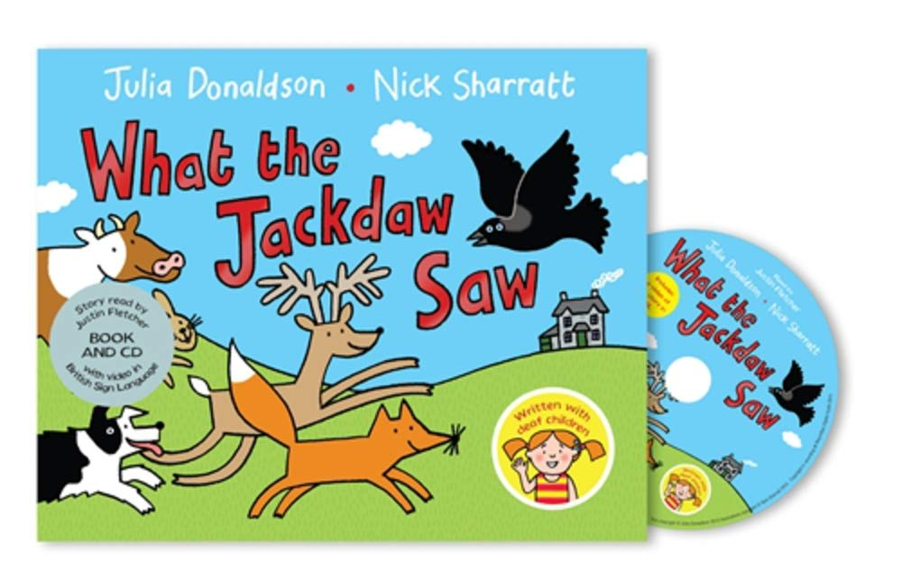 What the Jackdaw Saw: Book and CD Pack: Amazon.es: Julia Donaldson ...