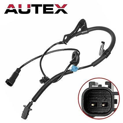 Amazon com: AUTEX 1pc x Right Rear ABS Wheel Speed Sensor