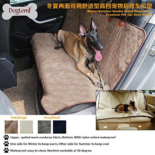 consegna veloce e spedizione gratuita per tutti gli ordini WYN123 Tappetino per per per Auto per Animali Domestici Quattro Stagioni con Tappetino per Auto per Animali Domestici, Marronee  forma unica