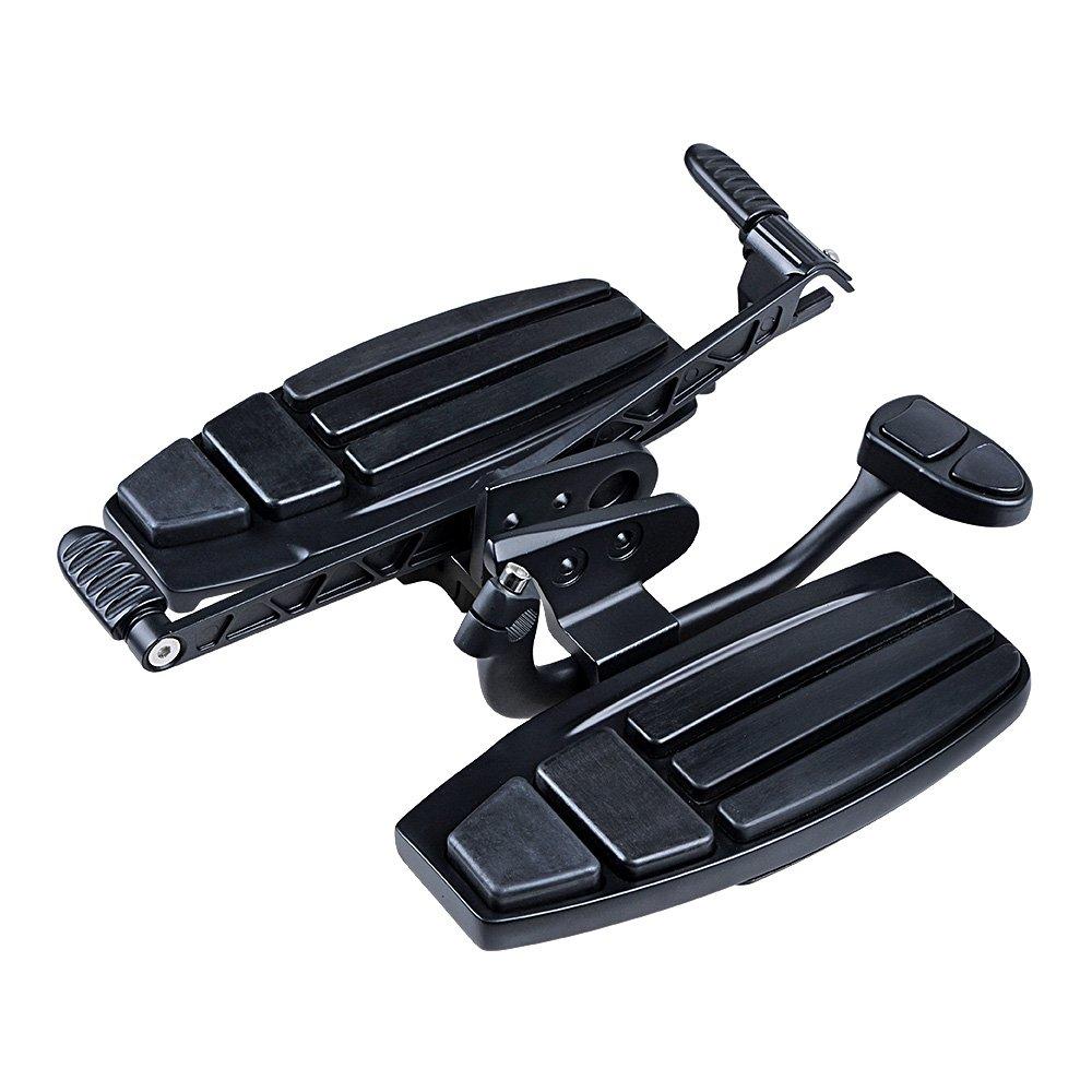 Matte Black Driver Floorboards Toe Heel Shifter Brake Lever Kit For Honda 2001-2017 GL1800 F6B 2014-2015 Valkyrie