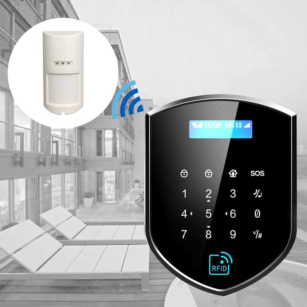 Wolf-Guard 433 MHz HW-01H Wireless Outdoor impermeabile PIR bianco IP65.5.8 x2.9 x2.1 Sensore di movimento per animali domestici per sistema di sicurezza allarme