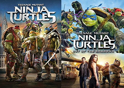 Teenage Mutant Ninja Turtles: Out Of The Shadows & Teenage Mutant Ninja Turtles (2014) Comic Hero Bundle Set Double Feature