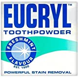 Eucryl Smokers Tooth Powder Freshmint Flavour (50g) - Pack of 2
