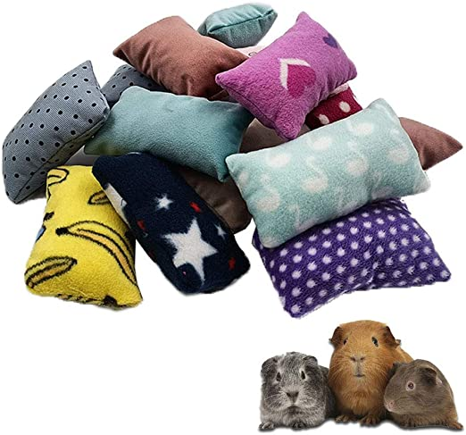 Set of 4 Christmas Snowflake Small Animal Pillows for Guinea PigHedgehogHamsterRatChinchillaferrets and other small animals
