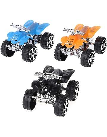 Freshsell Niños Juguetes Tirador Tirador Mini Coche Grande Inercia Simulación 4 Ruedas Motocicleta Playa Motocross Modelo