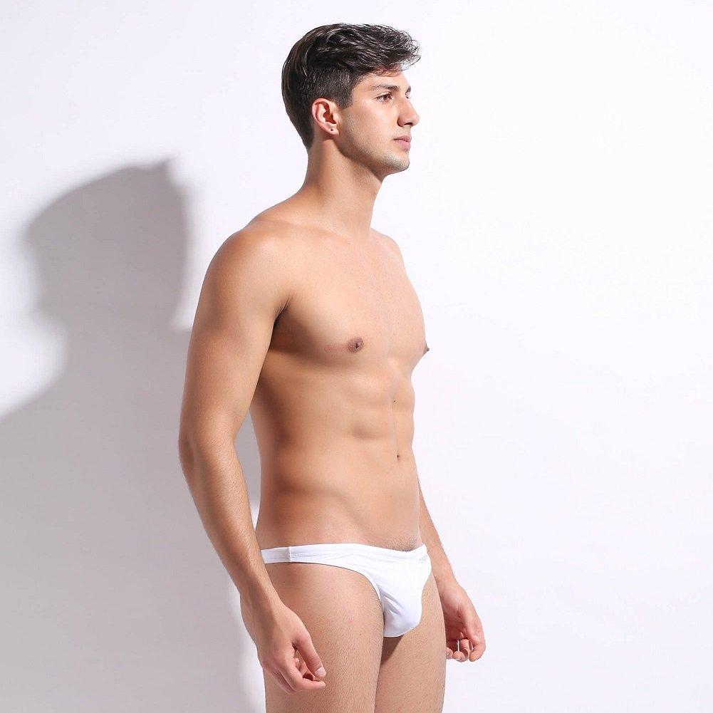 Asiatique M-XL, Fran/çais S-L Lantra Besa Homme Natation Surf sous-v/êtements Bikini Slip Swimmwear Pantalon avec Cordon de Serrage en Nylon et Spandex Type 2