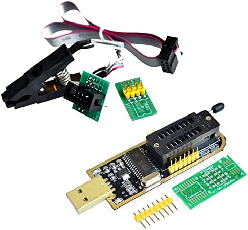 Ihaospace Ch341a 24 25 Series Eeprom Flash Bios Usb Computers Accessories
