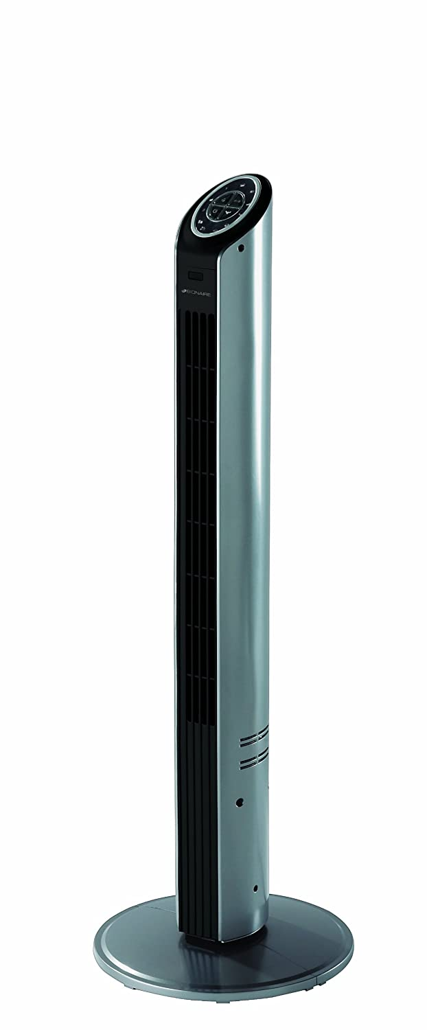 Bionaire Ultra Slim Tower Fan, Silver Jarden Consumer Solutions BTF001X
