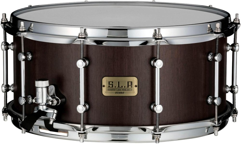 Tama SLP G-Walnut Snare 14 x 6.5 in.