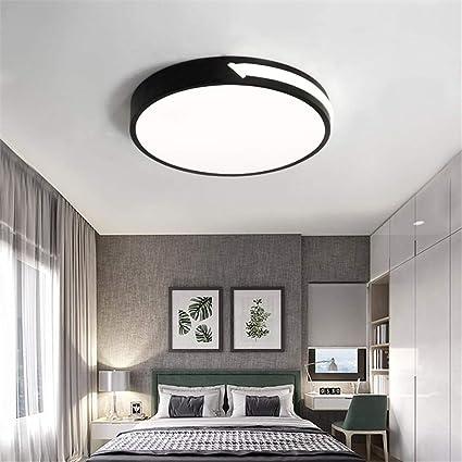 Amazon.com: ZM3 Ceiling Light Black Bedroom Ceiling Lamp ...