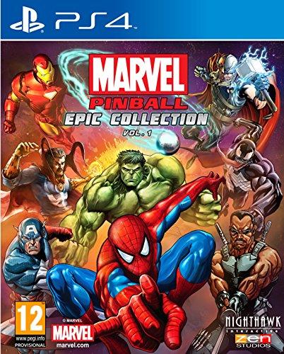 Nighthawk Interactive Marvel Pinball (PS4)