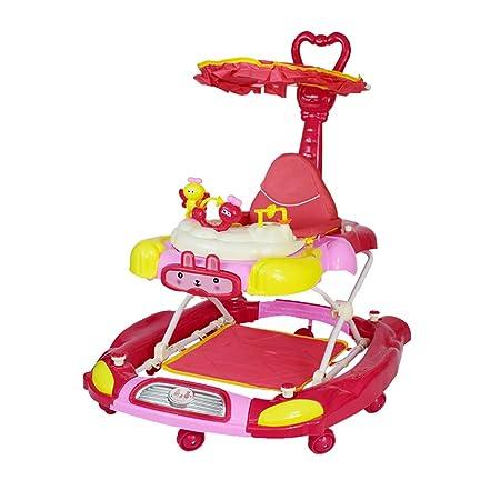 Andador para niños 6/7-18 Meses Bebé antivuelco Multifunción ...
