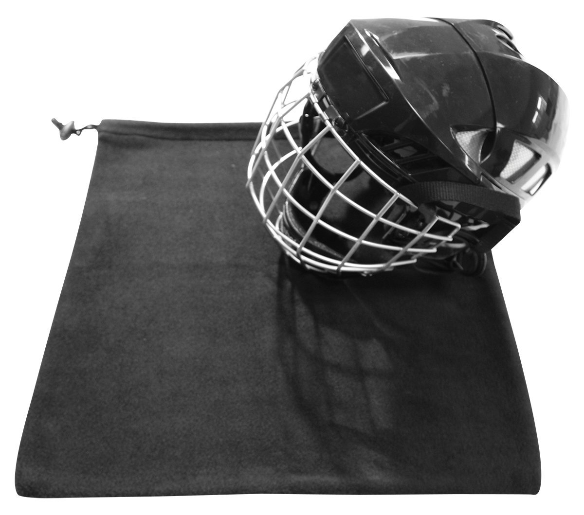 Goalie and Player Helmet Fleece Bag Blue Sprots