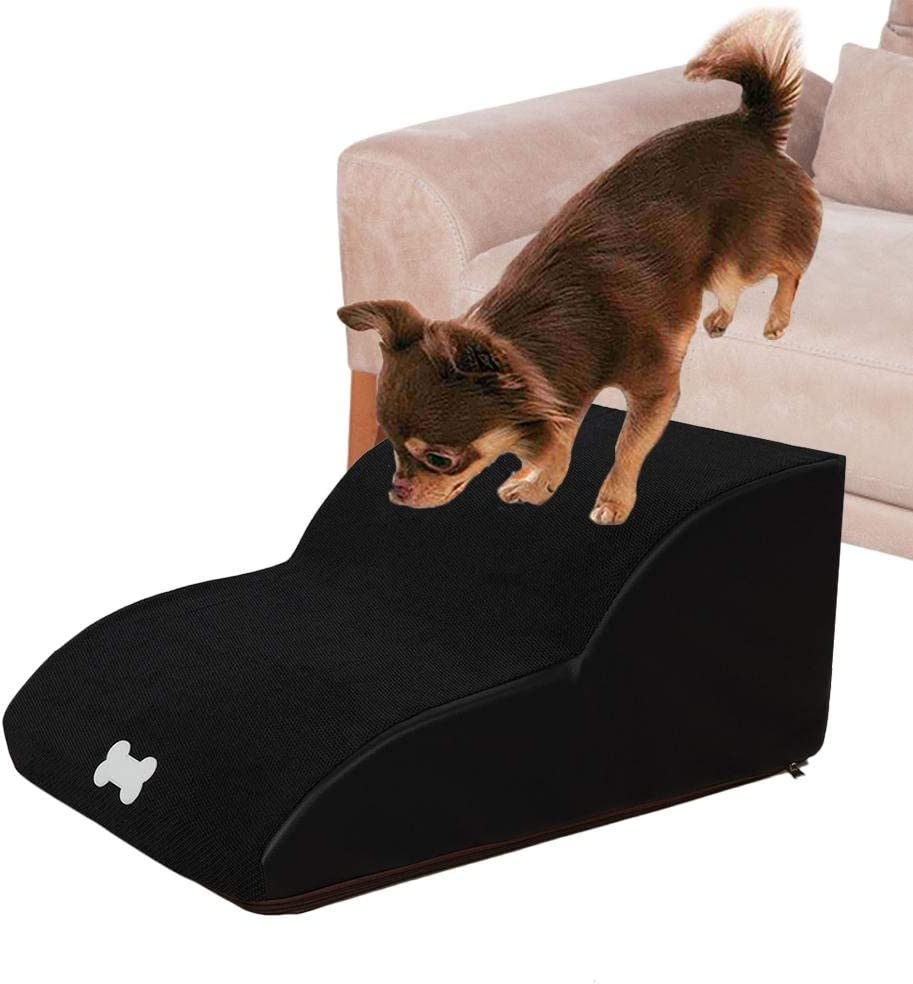 Nrkin Dog Stairs,Cat Stairs,Pet Stairs,2 Steps