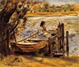 Pierre Auguste Renoir Young Woman In A Boat Aka Lise Trehot 36x30 [Kitchen]