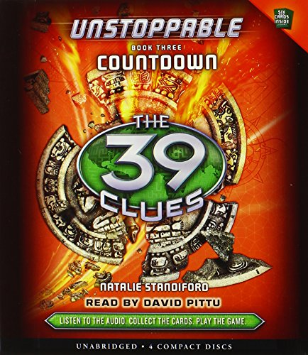 39 clues audio cd - 1