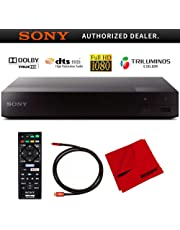 $78 » Sony BDP-S1700 Streaming Blu-ray Disc Player with Dolby TrueHD and DTS Master Audio Bundle with Deco Gear 6 ft High Speed HDMI 2.0 Cable and Microfiber TV Screen Cloth