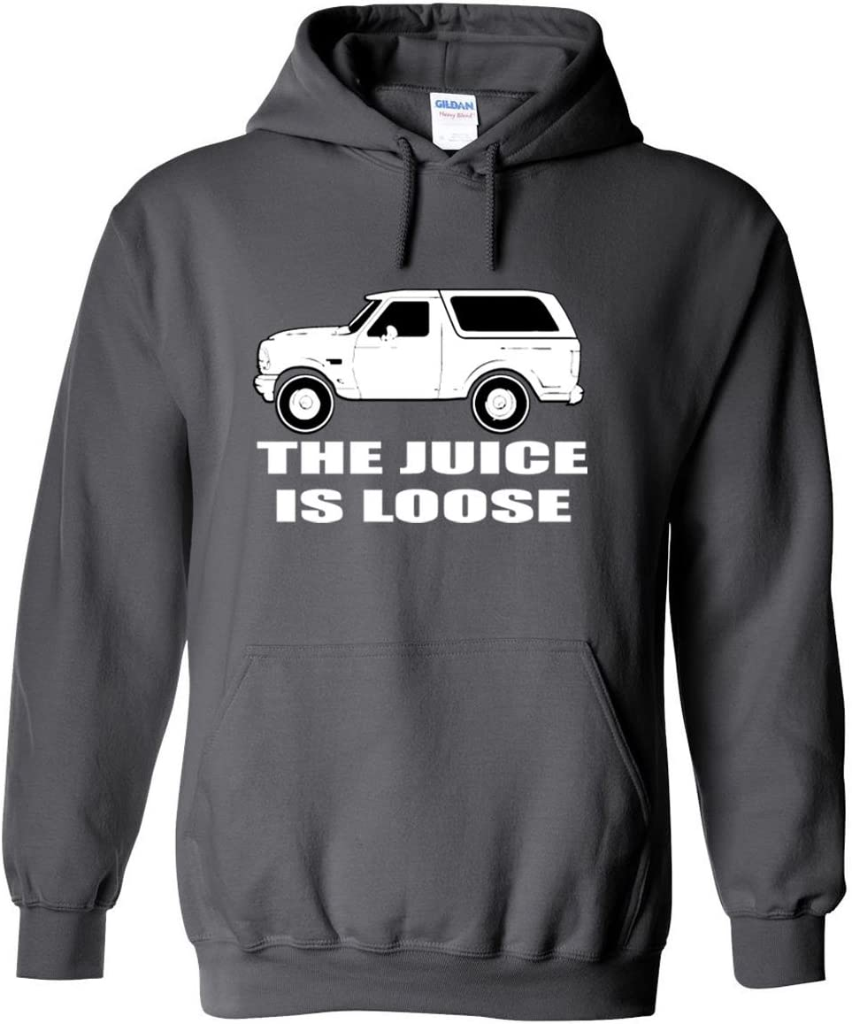 The Silo Grey O.J Simpson The Juice is Loose Hooded Sweatshirt